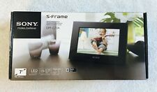 "Sony DPF-C70A 7"" Digital LED Picture Frame S-Frame New Open Box"