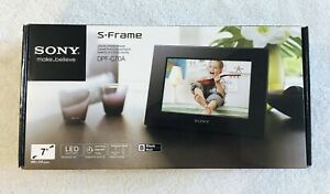 """Sony DPF-C70A 7"""" Digital LED Picture Frame S-Frame New Open Box"""