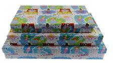 3 Piezas Set de Regalo Cajas Almacenaje Apilables con Tapa Vintage Retro Bebé