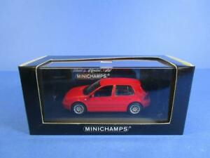 MINICHAMPS VW GOLF IV SALOON 1997, RED, 1/43, MIB!