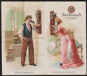 Pabst Brewing Co.'s Milwaukee Sales Brochure Beer