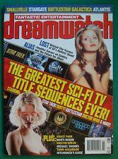 Dreamwatch #5~Sarah Michelle Gellar-Buffy-Doctor Who- & More Complete Magazine