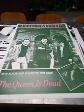 Affiche poster Vintage Originale ULTRA RARE !!! The Smiths The is dead RARE !!!