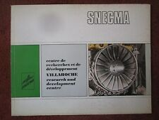1971 PLAQUETTE SNECMA MOTEUR AVIATION VILLAROCHE ATAR LARZAC JT8D JT9D ENGINE