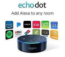 Amazon Echo Dot 2nd Generation w/ Alexa Voice Control and Media Streaming Black