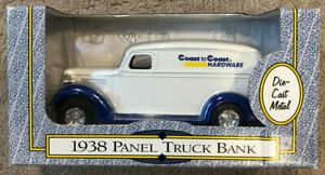 NIB ERTL Coast to Coast 1938 Panel Truck Bank, no. #B550