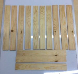 REDWOOD PINE Offcuts - Various Sizes GREAT VALUE!! FREE P&P