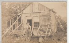 RPPC - The Hermit of Gloucester, MA - early 1900s