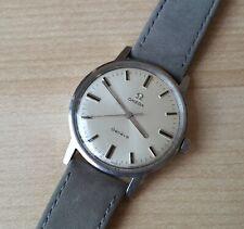 Men's Vintage 1970 Manual Winding Stainless Steel Omega Geneve Wrist Watch