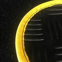 Tailored Durable Black Rubber Car Floor Mats Set for Honda Civic 3dr/5dr (05-12)