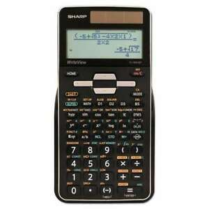 Sharp® EL-W516TBSL Scientific Calculator, 16-Digit LCD 074000019584