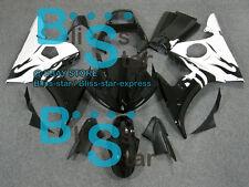 Black White INJECTION Fairing Yamaha YZFR6 YZF-R6 2003-2005 R6S 2006-2009 06 B6