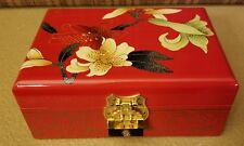 Wooden jewelry box Organizer with Antique Golden Lock, New in Box