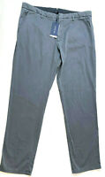 Zachary Prell Mens's Aster Straight Leg Chino Pants, Dark Grey, 40 MSRP $168.00