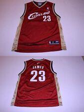 Youth Cleveland Cavs LeBron James M (10/12) Jersey (Red) Reebok Jersey