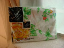 Lady Pepperell Twin Fitted Muslin Vtg Sheet Floral Sealed