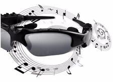Lunettes de soleil Bluetooth sans fil Stéréo Casque écouteur Head-set
