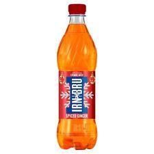 IRN-BRU Crimbo Juice Spiced Ginger Limited Edition 500ml (Case of 24 BOTTLES)