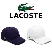 Lacoste Para Hombre Algodón Pique de logotipo de cocodrilo RK0123 Béisbol Sombrero Gorra