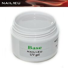 "Haft-Gel, klar, weich, flüssig. ""NAIL1EU BASE"" 7 ml/ UV Grundier-Gel Bonding-gel"