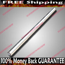 """3.5"""" x 5' OD DIY Stainless Steel Tube for Exhaust Straight Piping3.5x5 Feet Long"""