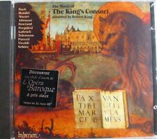 CD THE MUSIC OF THE KING'S CONSORT - ROBERT KING - NEUF SCELLE