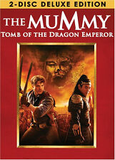 The Mummy Tomb of the Dragon Emperor DVD 2008 2-Disc Set Deluxe Edition