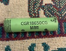 CGR18650CG Panasonic  2250mAh Lithium-Ion Li-Ion Rechargeable Battery Cells