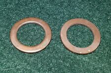 NOS Triumph Sealing Crush Washer x2 2043060-T0301 Sprint trophy Tiger 885 900