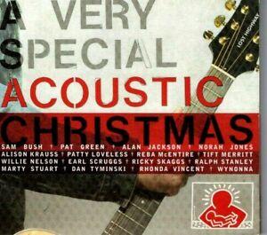 A VERY ACOUSTIC CHRISMAS - SAM BUSH, PAT GREEN, NORAH JONES, WILLIE NELSON - CD