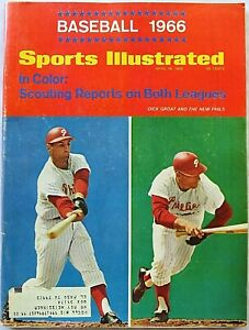 Vintage Sports Illustrated 4/18/1966~Baseball Preview Issue~Dodgers O'Malley~Ali