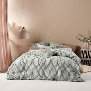 Linen House Amadora Quilt Duvet Doona Cover Set | SMOKE 2020 Range