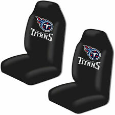 Tennessee Titans Car Seat Covers High Back Licensed Pair Universal SUV