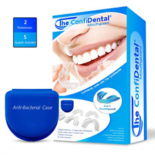 The ConfiDental - Pack of 5 Moldable Mouth Guard for Teeth Grinding Clenching 3