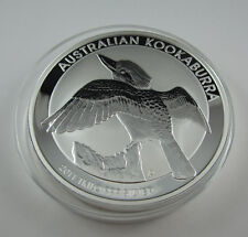 2011 Silver KOOKABURRA KILO specimen. Exceptional Perth Mint large coin series