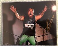 Authentic SIGNED 8x10 photo Impact Wrestling Hornswoggle WWE Star Highspots COA