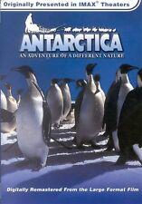 ANTARCTICA AN ADVENTURE OF A DIFFERENT NATURE: IMAX Robert Scott DVD NEW
