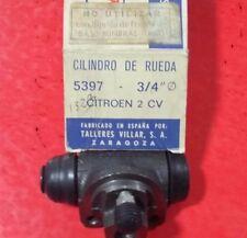 """CILINDRO BOMBIN DE FRENOS CITROEN 2 CV 3/4"""" LIQUIDO LHM 5397 VILLAR 5397 , NUEVO"""