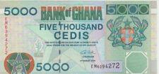 Ghana 5000 Cedis 2006 Pick 34 UNC