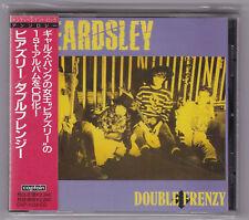 Beardsley - Double Frenzy CD Comes GAS Sperma Nurse Continental Kids Japan Punk