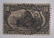 TRAVELSTAMPS: 1898 US Stamps Scott # 290, Hardships of Emigration, used, NG