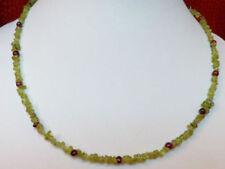 Unbehandelte Halsketten mit Edelsteinen Sets mit Granate