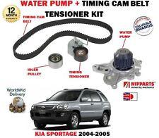 FOR KIA SPORTAGE 2.0 CRDI D4EA 2004-2005 TIMING CAM BELT KIT + WATER PUMP SET