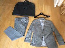 Hugo Boss Guabello Men's Grey 100% Virgin Wool Business Suit & Trousers 50 UK