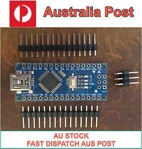 Arduino Nano v3 ATMega328P 2020 16Mhz Optiboot Bootloader and CH340 - AU Stock