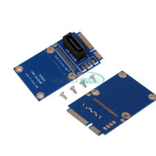 mSATA Mini PCI-e SATA SSD Slot To 7 Pin SATA HDD Card Adapter Convert