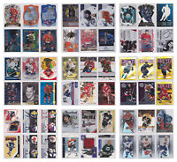 Insert Parallel Numbered Rare SP Star Cards NHL Hockey - Pick From List