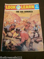 LOOK and LEARN # 547 - THE BIG BONANZA - JULY 8 1972