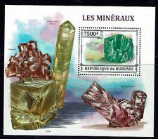MINERAUX Burundi 1 bloc de 2013 ** MNH LUXE B 360 MINERALS MINERALE