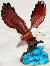 Juliana Treasured Trinkets eagle diamante trinket box